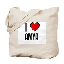I LOVE AMYA Tote Bag