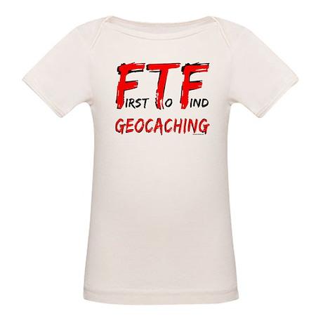 FTF Geocaching Organic Baby T-Shirt