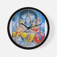 Shiva Parvati Ganesh ji Wall Clock