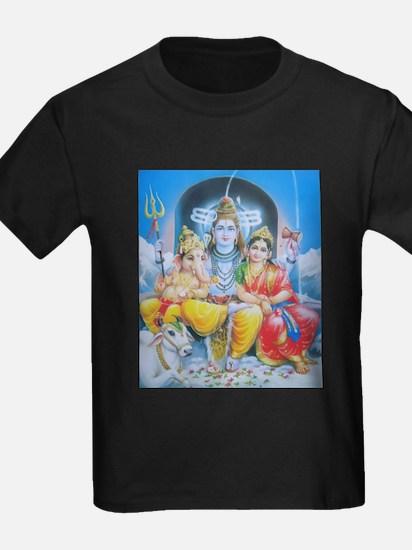 Shiva Parvati Ganesh ji T