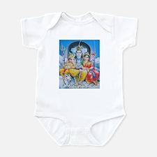 Shiva Parvati Ganesh ji Infant Bodysuit
