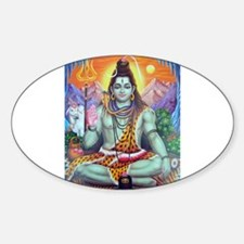 Shiv Ji Oval Decal