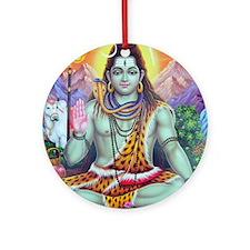 Shiv Ji Ornament (Round)