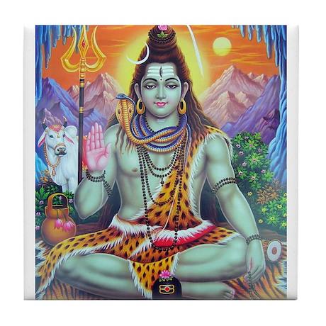 Shiv Ji Tile Coaster