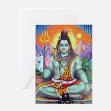 Shiv Ji Greeting Card