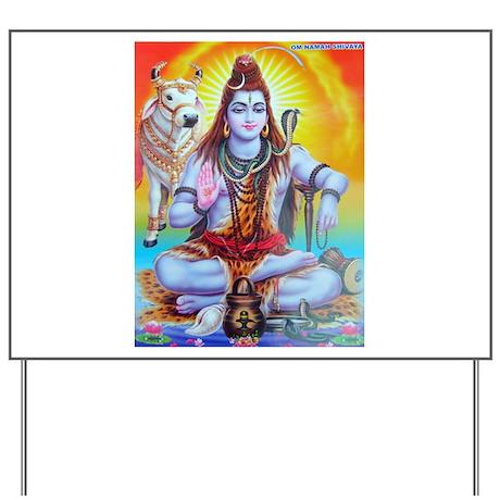 Shiva ji Yard Sign