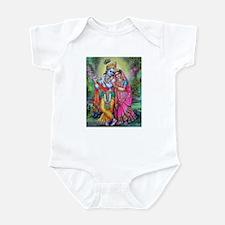 radha krishna Infant Bodysuit