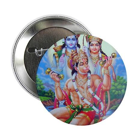 "Ram Sita Hanuman 2.25"" Button"