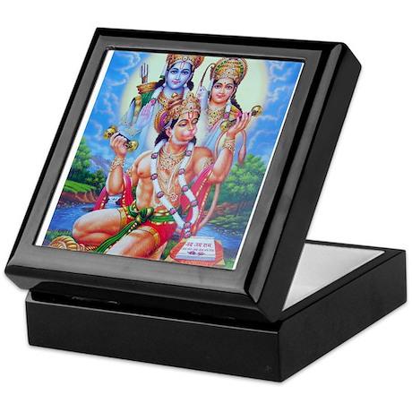 Ram Sita Hanuman Keepsake Box