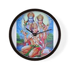 Ram Sita Hanuman Wall Clock