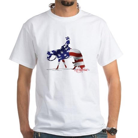 Stars & Stripes Pleasure horse Women's T-Shirt