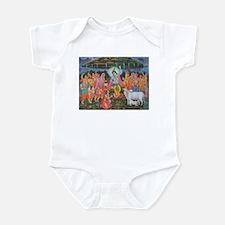 Krishna Govardhana Infant Bodysuit