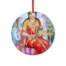 Lakhsmi mata Ornament (Round)