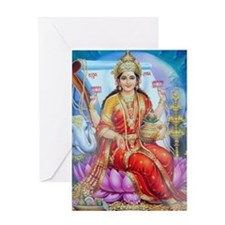 Lakhsmi mata Greeting Card