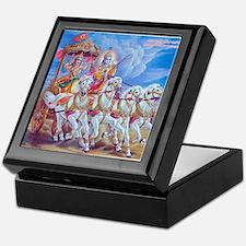 Krishna Arjuna Keepsake Box