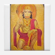 Hanuman Ji Tile Coaster