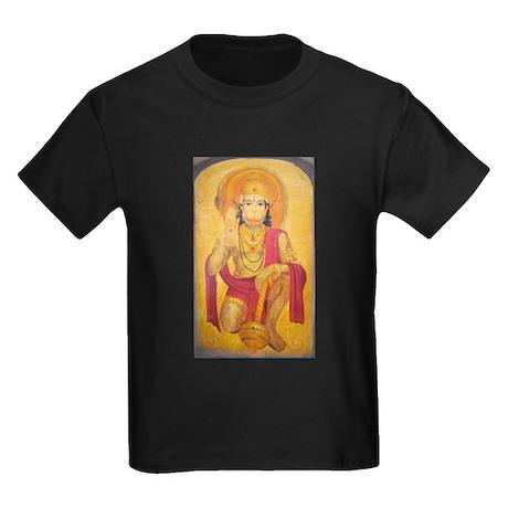 Hanuman Ji Kids Dark T-Shirt