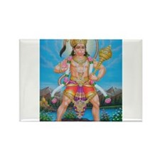 Jai Hanuman Rectangle Magnet