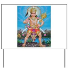 Jai Hanuman Yard Sign