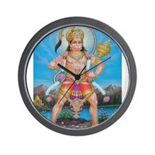 Jai Hanuman Wall Clock