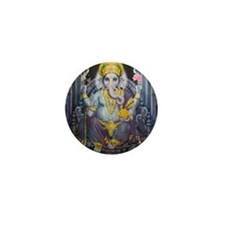 Ganesha ji Mini Button