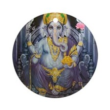Ganesha ji Ornament (Round)