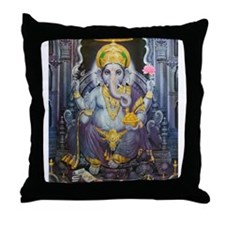 Ganesha ji Throw Pillow