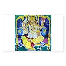 Jai Ganesh Rectangle Decal