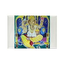 Jai Ganesh Rectangle Magnet