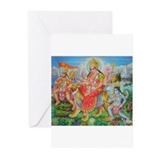 Durga Mata Greeting Cards (Pk of 10)