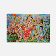 Durga Mata Rectangle Magnet