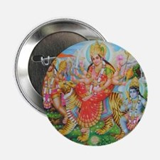"Durga Mata 2.25"" Button"