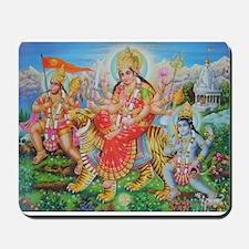 Durga Mata Mousepad