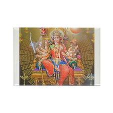 Durga ji Rectangle Magnet