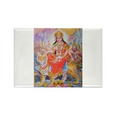Durga mata ji Rectangle Magnet