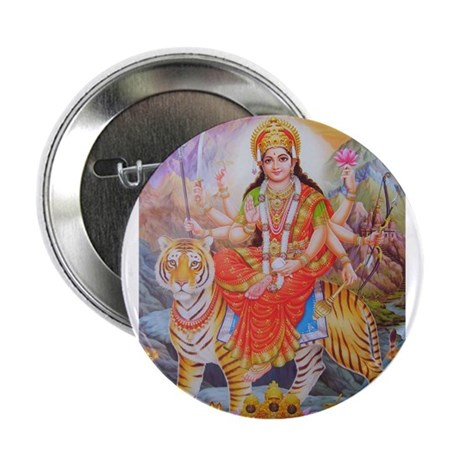 "Durga mata ji 2.25"" Button"