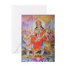 Durga mata ji Greeting Card