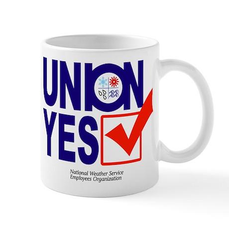 union yes Mug