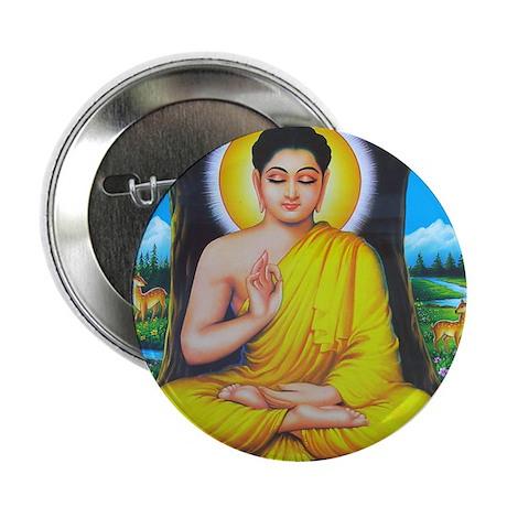 """Buddha 2.25"""" Button"""