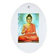 Buddha ji Oval Ornament