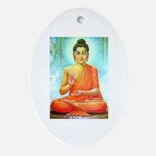 Buddha ji Oval Ornament