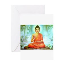 Buddha ji Greeting Card