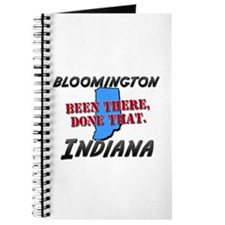 bloomington indiana - been there, done that Journa