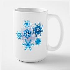Christmas Snowflake Large Mug Mugs
