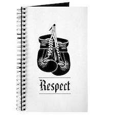 """Respect"" Unlined Journal"