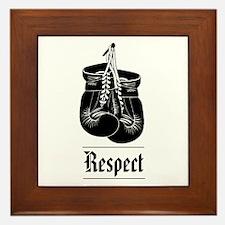 """""""Respect"""" Framed Ceramic Tile"""