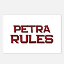 petra rules Postcards (Package of 8)
