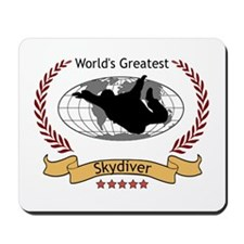 World's Greatest Skydiver Mousepad