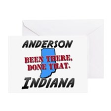 anderson indiana - been there, done that Greeting