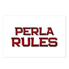 perla rules Postcards (Package of 8)